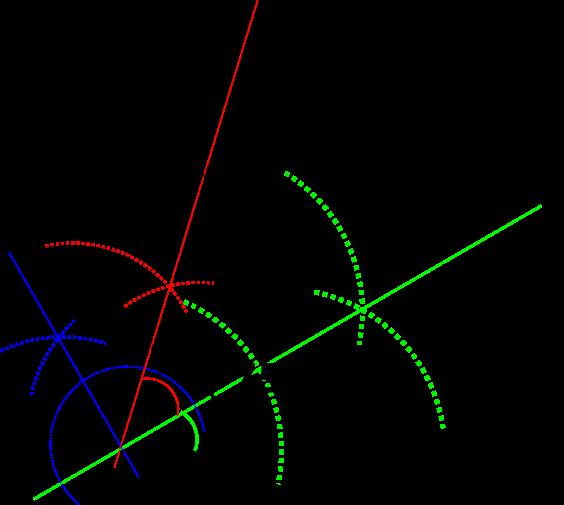 75°作図
